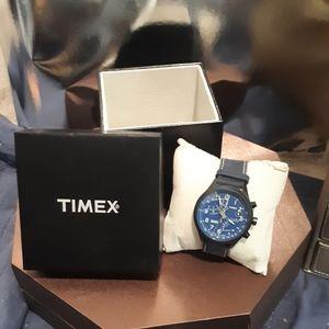 Timex Intelligent Quartz Navy blue wrist watch